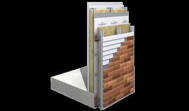 CMS30-Mechanical GRC Brick Slip Cladding Support System