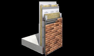 CMS40-MMF Slip Brick Slip Support System