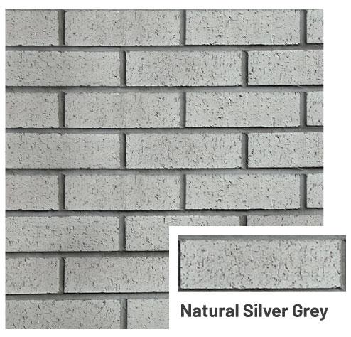 Natural-Silver-Grey-brick cladding panels