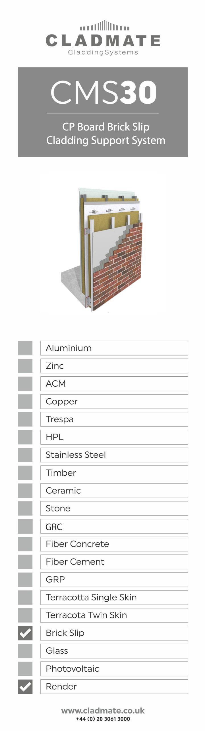 brick slip cladding panels